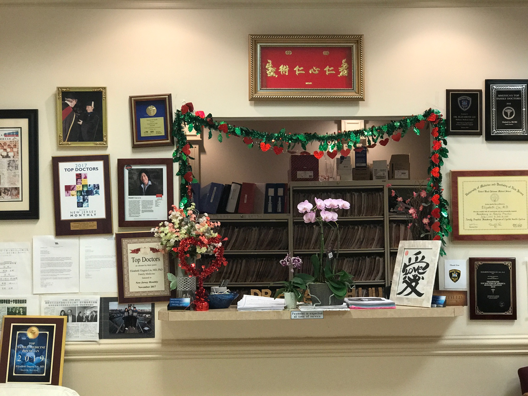 Dr. Liu's Office